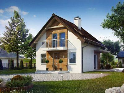 """Проект дома """"Гранат"""" 111м2"""